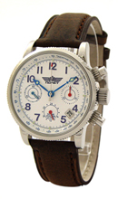 Poljot Chronograph 24 hours White